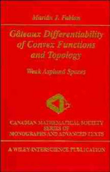 Gateaux Differentiability of Convex Functions and Topology av Marian J. Fabian (Innbundet)