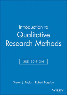 Introduction to Qualitative Research Methods av Robert Bogdan og Steven J. Taylor (Innbundet)
