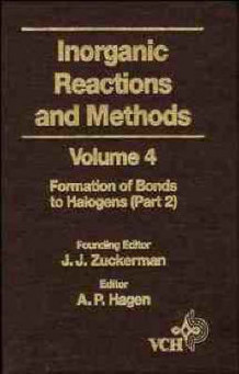 Inorganic Reactions and Methods: v. 4 av J. J. Zuckerman (Innbundet)