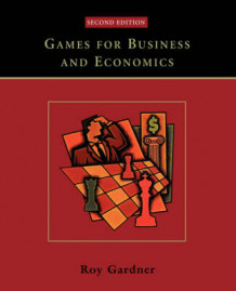 Games for Business and Economics av Roy Gardner (Heftet)