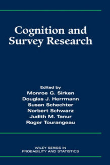 Cognition and Survey Research (Innbundet)