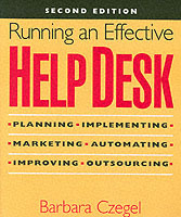 Running an Effective Help Desk av Barbara Czegel (Heftet)
