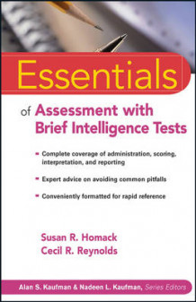 Essentials of Assessment with Brief Intelligence Tests av Susan R. Homack og Cecil R. Reynolds (Heftet)