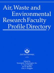 Air Waste and Environmental Research Faculty Profile Directory av Air & Waste Management Association (Heftet)