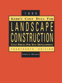 Kerr's Cost Data for Landscape Construction (Heftet)