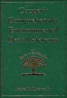 Cooper's Comprehensive Environmental Desk Reference (Innbundet)