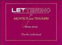 Lettering for Architects and Designers av Martha Sutherland (Heftet)