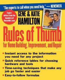Rules of Thumb for Home Building, Improvement, and Repair av Katie Hamilton og Gene Hamilton (Heftet)