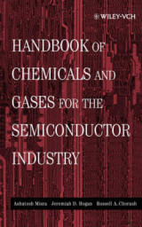 Omslag - Handbook of Chemicals and Gases for the Semiconductor Industry