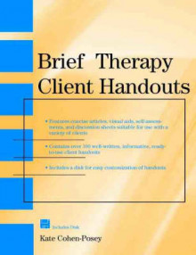 Brief Therapy Client Handouts av Kate Cohen-Posey (Heftet)