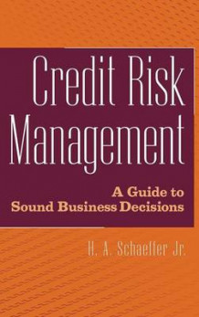 Credit Risk Management av H. A. Schaeffer (Innbundet)