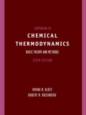 Companion to Chemical Thermodynamics av Irving M. Klotz og Robert M. Rosenberg (Heftet)