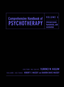 Comprehensive Handbook of Psychotherapy: Interpersonal/Humanistic/Existential v. 3 (Innbundet)