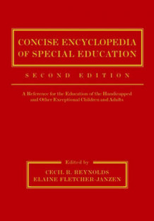 Concise Encyclopedia of Special Education (Innbundet)