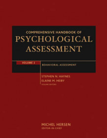 Comprehensive Handbook of Psychological Assessment: Behavioral Assessment v. 3 (Innbundet)