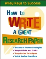 How to Write a Great Research Paper av Book Builders og Beverly Chin (Heftet)