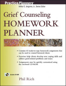Grief Counselling Homework Planner av Phil Rich (Heftet)