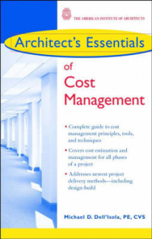 Architect's Essentials of Cost Management av Michael D. Dell'Isola (Heftet)