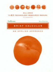 Brief Calculus: Resource Manual av Michael Sullivan og Abshalom Mizrahi (Heftet)