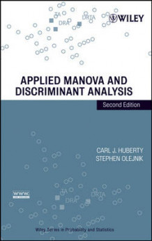 Applied MANOVA and Discriminant Analysis av Carl J. Huberty og Stephen Olejnik (Innbundet)