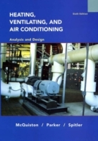 Heating, Ventilating and Air Conditioning av Faye C. McQuiston, Jerald D. Parker og Jeffrey D. Spitler (Innbundet)