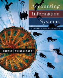 Accounting Information Systems: Controls and Processes, 1st Edition av Leslie Turner og Andrea Weickgenannt (Innbundet)