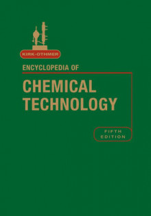 Kirk-Othmer Encyclopedia of Chemical Technology av R. E. Kirk-Othmer (Innbundet)