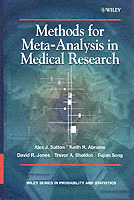 Methods for Meta-Analysis in Medical Research av Alexander J. Sutton, Keith R. Abrams, David R. Jones, Trevor A. Sheldon og Fujian Song (Innbundet)