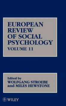 European Review of Social Psychology: Vol.11 av Wolfgang Stroebe og Miles Hewstone (Innbundet)