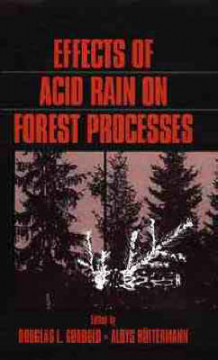 Effects of Acid Rain on Forest Processes (Innbundet)