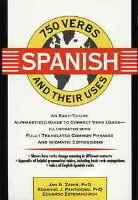 750 Spanish Verbs and Their Uses av Jan R. Zamir, Edgardo J. Pantigoso og Eduardo Estevanovich (Heftet)