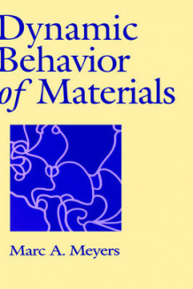 Dynamic Behavior of Materials av Marc Andre Meyers (Innbundet)