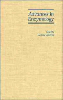 Advances in Enzymology: and Related Areas of Molecular Biology v. 67 av Alton Meister (Innbundet)