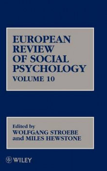 European Review of Social Psychology: Vol.10 av Wolfgang Stroebe (Innbundet)
