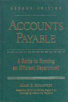 Accounts Payable av Mary S. Schaeffer og Institute of Management and Administration (IOMA) (Innbundet)