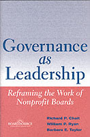 Governance as Leadership av Richard P. Chait, William P. Ryan og Barbara E. Taylor (Innbundet)