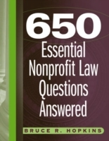 650 Essential Nonprofit Law Questions Answered av Bruce R. Hopkins (Heftet)