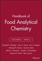 Handbook of Food Analytical Chemistry: v. 1 & 2 (Innbundet)