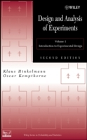Design and Analysis of Experiments, Volume 1 av Klaus Hinkelmann og Oscar Kempthorne (Innbundet)