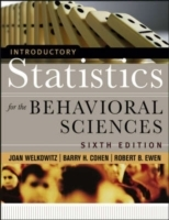 Introductory Statistics for the Behavioral Sciences av Joan Welkowitz, Barry H. Cohen og Robert B. Ewen (Innbundet)