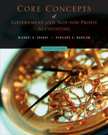 Core Concepts of Government and Not-for-Profit Accounting av Michael H. Granof og Penelope S. Wardlow (Heftet)