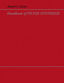 Handbook of Filter Synthesis av Anatol I. Zverev (Heftet)