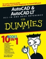 AutoCAD and AutoCAD LT All-in-one Desk Reference For Dummies av David Byrnes og Lee Ambrosius (Heftet)