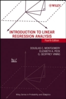 Introduction to Linear Regression Analysis av Douglas C. Montgomery, Elizabeth A. Peck og G. Geoffrey Vining (Innbundet)