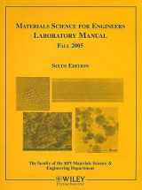 Omslag - Materials Science for Engineers Laboratory Manual