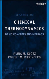 Chemical Thermodynamics av Irving M. Klotz og Robert M. Rosenberg (Innbundet)