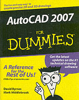 AutoCAD 2007 For Dummies av David Byrnes og Mark Middlebrook (Heftet)