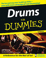 Drums for Dummies, 2nd Edition av Jeff Strong (Heftet)