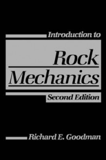 Introduction to Rock Mechanics 2E av Richard E. Goodman (Heftet)