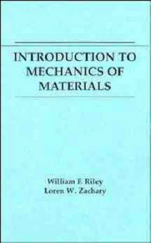 Introduction to Mechanics of Materials av William F. Riley og Loren W. Zachary (Heftet)